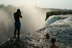 zimbabwe, swimming pools, the edge, victoria falls, devil pool, natural pools, africa, place, bucket lists