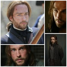 Thrilled to meet the new hero template for my next 18th-century novel, Tom Mison of Sleepy Hollow!