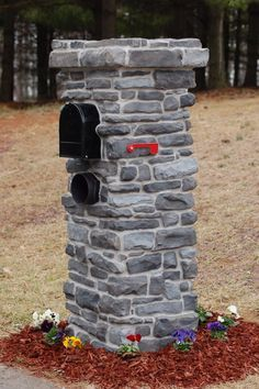 Stone mailbox idea