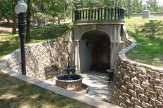 An amazing owner-built underground home, with intricate landscaping and a uniquely classical style. Check out more at http://theundergroundhomedirectory.com/case-study-ratzlaff-house/ or through their well-documented website at http://ourundergroundhome.com