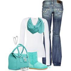jean, fashion, boot, style, color, tiffany blue, tiffani blue, casual outfits, blue nile