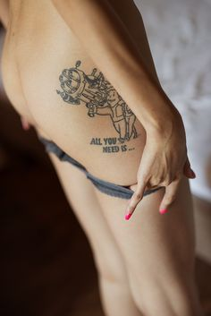 all you need is. #tattoo.