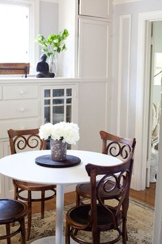 Perfect table for dinette area