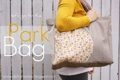 Let's go the park bag tutorial from Delia Creates