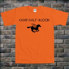Camp HalfBlood Book Tshirt Gift Percy Jackson Tshirt by TEEBIRDS, $13.00