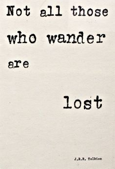 Not all who wander - Free Printable @ Fresh Idea Studio.com