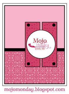 Mojo Monday sketch No. 88. #cards #card_making #sketches #crafts