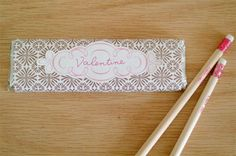 Candy bar wrapper-Valentine's. Click on link to download free template. http://www.skiptomylou.org/2011/02/08/printable-valentine-candy-bar-wrappers/