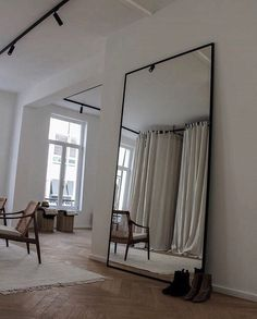 Modern room and interior design. Clean lines and muted soft colors