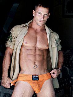 jockstrap, hott men, open shirt, man candi, hot guy, oranges, hot men, matt schiermeier, practic jock