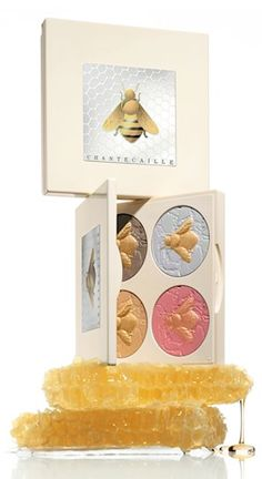 'save the bees' eye and cheek palette http://rstyle.me/n/msj3mr9te