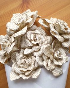 Gorgeous paper flowers on Etsy