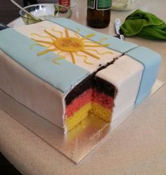 The Cruellest World Cup Cake You Will Ever See