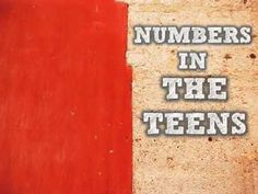 ▶ Numbers in the Teens They start with a 1!!!! song clipnabber com - YouTube