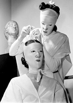 via brownmountain, beauty treatment - (looks like a Twilight Zone episode to me!)