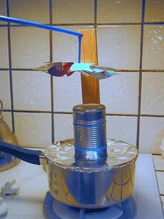 "Sun, wind, and water are all sources of renewable energy. But what about the Earth itself? In the ""The Power of Heat Is Right Under Your Feet!"" #science project, students build a model of a geothermal power plant to learn more about geothermal energy. [Source: Science Buddies, http://www.sciencebuddies.org/science-fair-projects/project_ideas/Energy_p023.shtml?from=Pinterest] #STEM #scienceproject #energy"
