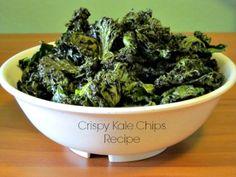 crispi kale, kale chips, water recip, foodi, chip recip