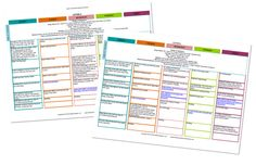 Lesson plans for 26 weeks, includes weekly bible verse