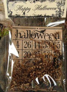 "Halloween ""Bingo"" Card"