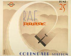 vintage london, london underground, vintage posters, movi poster, raf display, poster seri, london transport, london call, 1932