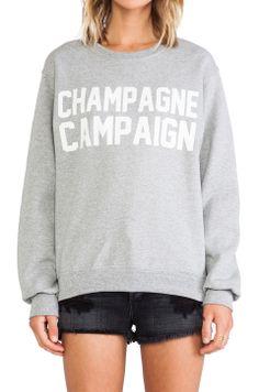 champagn campaign, champagne campaign