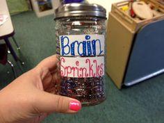 Creative FUN:  Brain Sprinkles!