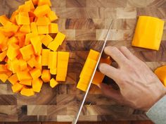 A clear step-by-step guide to preparing butternut squash