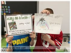 A fun and hands-on idiom activity to help students truly understand their meanings!
