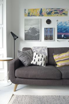 via breathe happiness, living room details, pillows