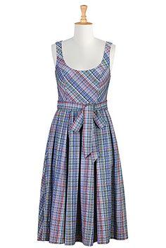 Seersucker dress! So fun!