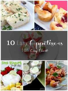 10 Easy Appetizers f