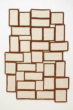 decor, stack symmetri, anthropologiecom, symmetri rug, geometr, homes, rugs, bedroom bliss, apart idea