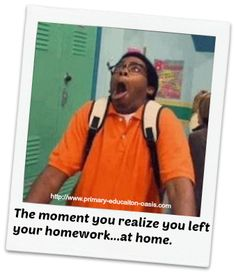 Forgetting homework