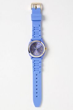 pretty blue watch