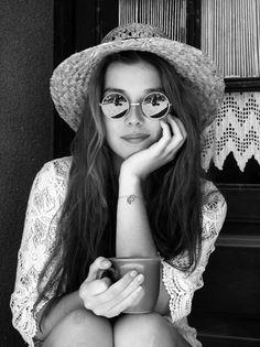 hippie girl shades