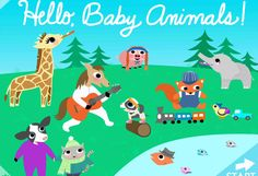Hello Baby Animals app - one of our favorite new preschooler apps.