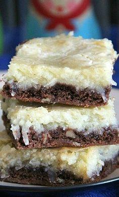 German Chocolate Cream Cheese Cake