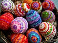Crochet easter items | Easter eggs Crochet | Crochet items