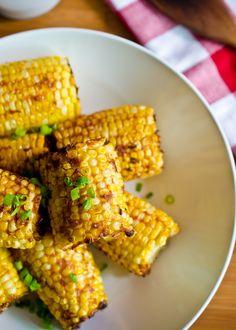 Smokey Parmesan Corn on the Cob  #corn corn delicious corn