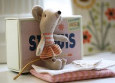 Matchbox mouse... This is so cute!