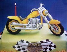 bike cake art