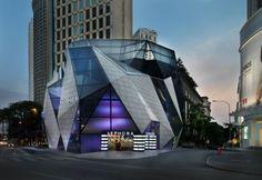 Unique Sephora building