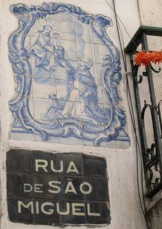 Alfama, Lisboa, Portugal - Azulejos, Portuguese Tile