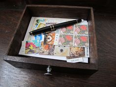 Moving Away gift - address book, blank post cards, and stamps!
