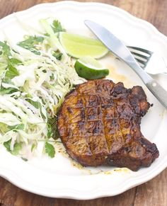 Vietnamese Grilled Pork Chop recipe by SeasonWithSpice.com @Season Weaver with Spice - an Asian Spice Shop