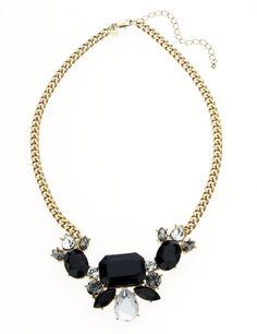 M&S Collection Jewel Embellished Diamanté Necklace