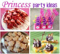 Princess Party Ideas- cute!