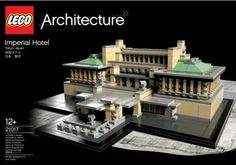 Architizer Blog » LEGO Announces Wright's Imperial Hotel As Next In 'Architecture Series'