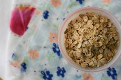 Homemade Oat Cereal