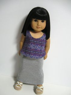 American Girl Doll Clothes Still Summer by 123MULBERRYSTREET, $23.00